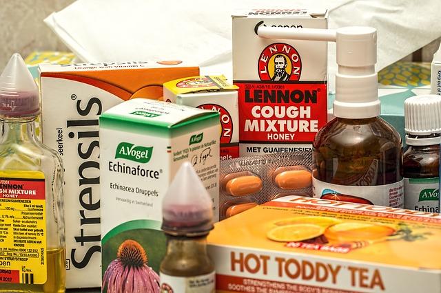 léky na nachlazení