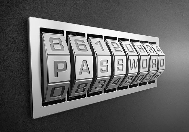 číselník na heslo