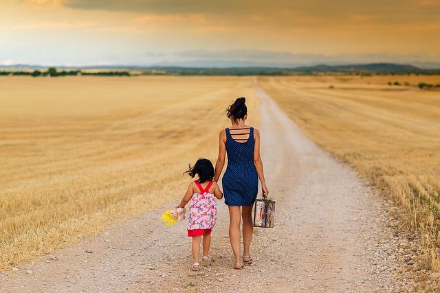 výlet s dcerkou