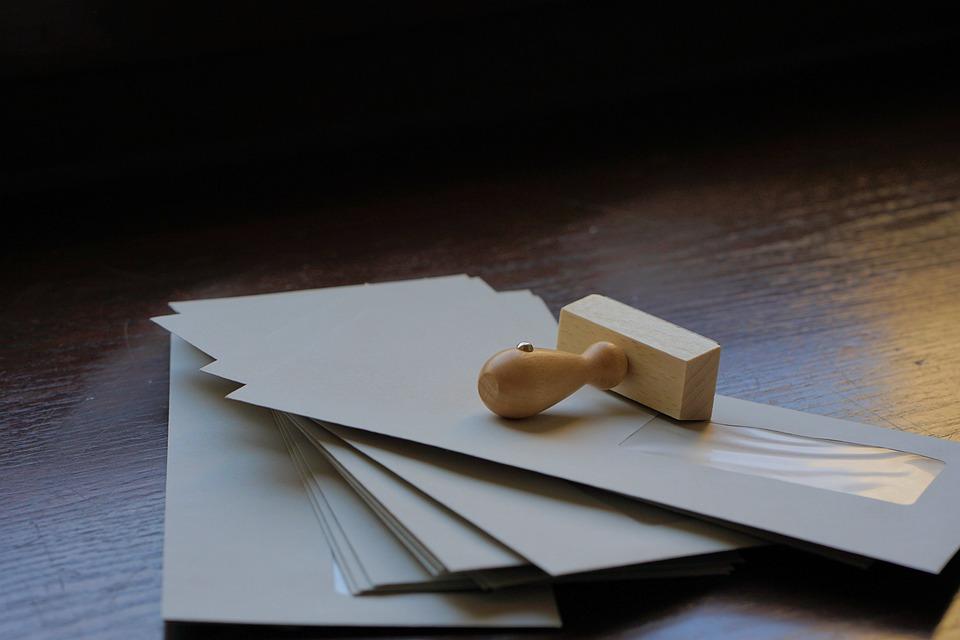 otisknutí dopisu